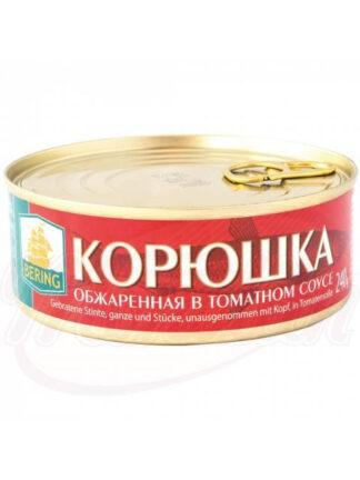 Geroosterde spiering in tomatensaus, 240 g