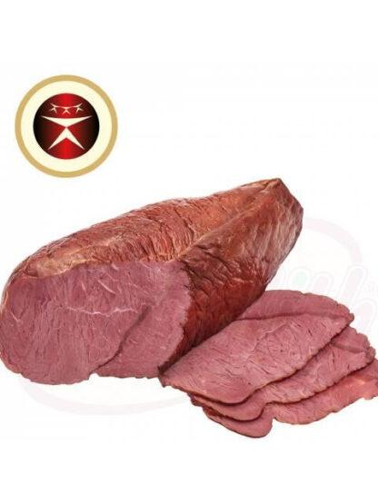 Rundvlees, gezouten, gekookt, gekruid, gerookt