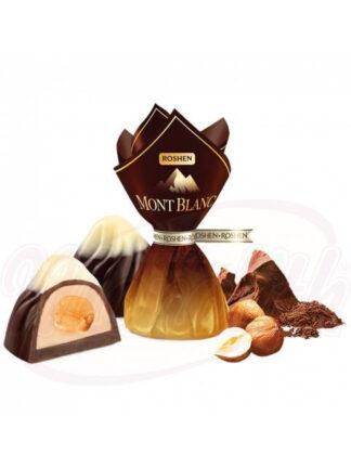 """Chocolades """"Mont Blanc"""" met hele hazelnoten"""