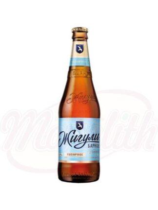 "Bier ""Zhiguli Wheat"" ongefilterd, 4,9% alc., 0,45 L"