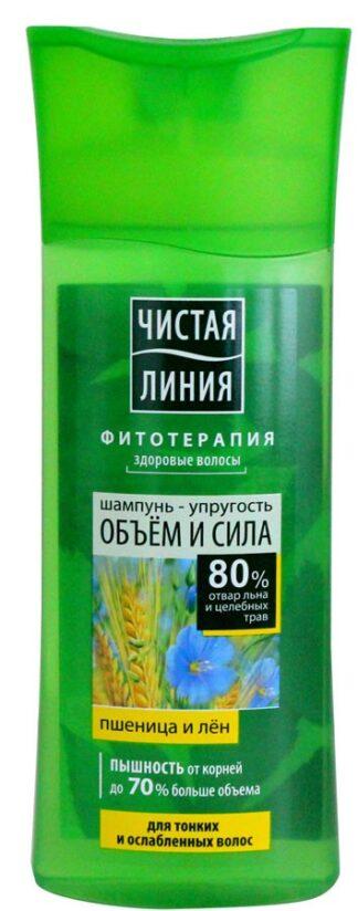 """Шампунь """"Пшеница-Лен"""" объем и сила 250 мл"""
