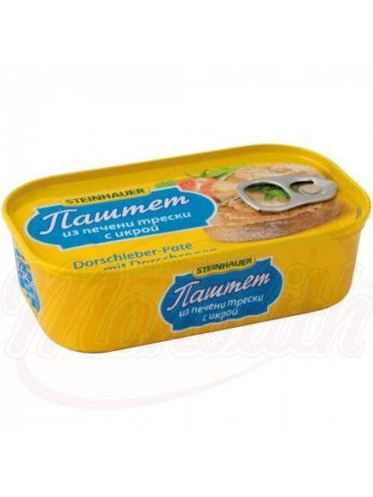 Kabeljauwleverpastei met kaviaar, 115 g