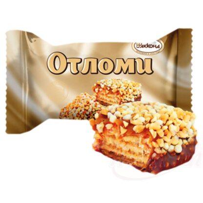 """Wafelrepen """"Otlomi"""" met room en zachte karamel"""