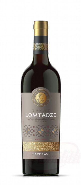 """Lomtadze - Rode wijn """"Saperavi"""", droog, 0,75 L"""