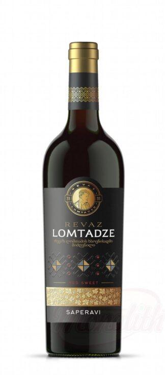 """Lomtadze - Rode wijn """"Saperavi"""", zoet, 0,75 L"""