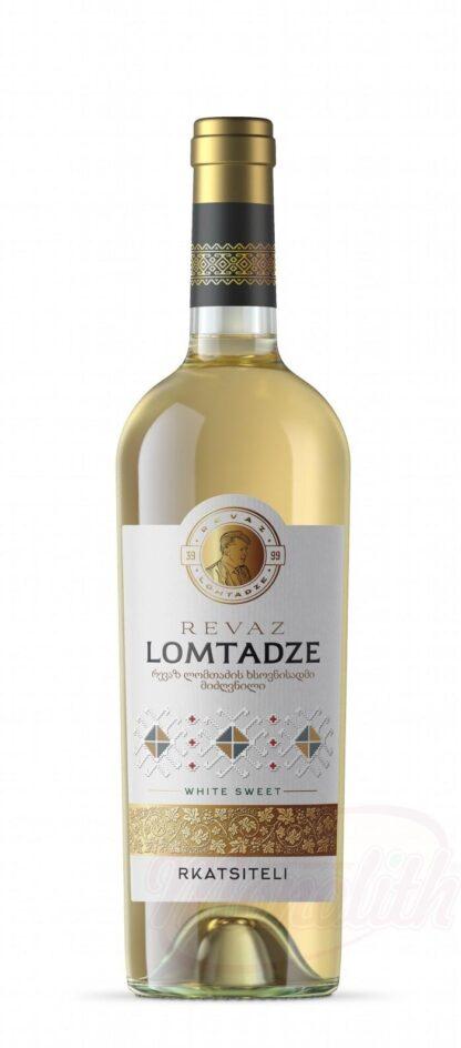"""Lomtadze-Witte wijn """"Rkatsiteli"""", zoet, 0,75 L"""