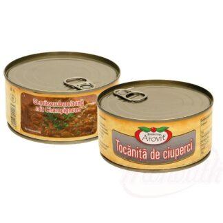Groenten voorgerecht met champignons, 300 g