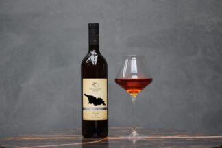 Bio-dynamisch, Abdushelishvili, Rkatsiteli Qvevri, oranje, droog wijn, 0,75 L