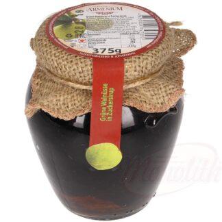 Groene walnoten in suikerstroop, 375 g