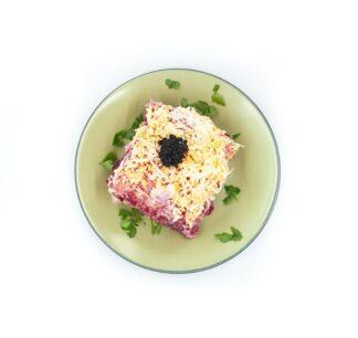 Salade met harin ( seledka pod shuboj), 400 g
