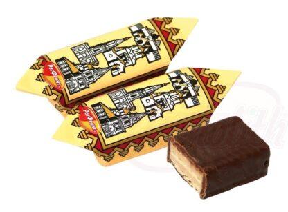 """Zamoskworechje"" wafelsnoepgoed in een vetglazuur op cacaobasis"
