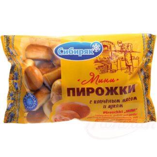 """Piroschki """"Mini"""" gevuld met gerookt varkenswangvlees, 400 g"""